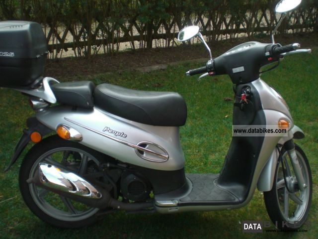 2006 Kymco  People 50 Motorcycle Scooter photo