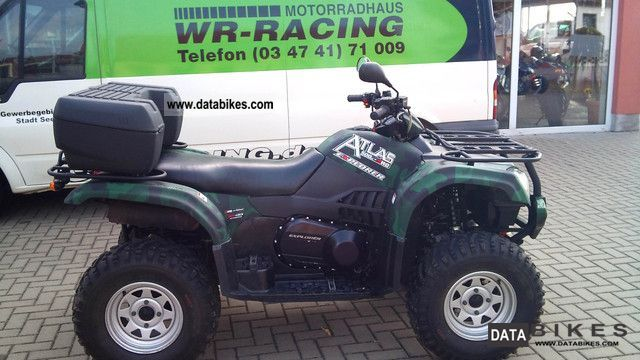2010 Explorer  CF MOTO Atlas 500 4X4 Motorcycle Quad photo