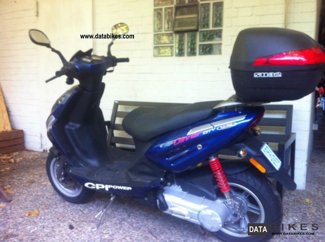 2007 CPI  City Motorcycle Scooter photo