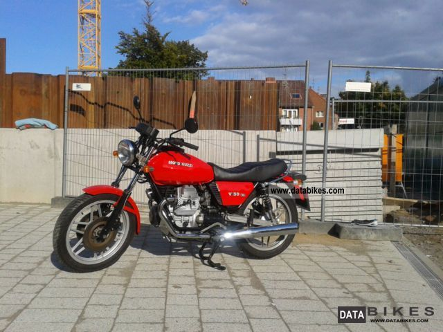 Moto Guzzi  V50 1979 Vintage, Classic and Old Bikes photo