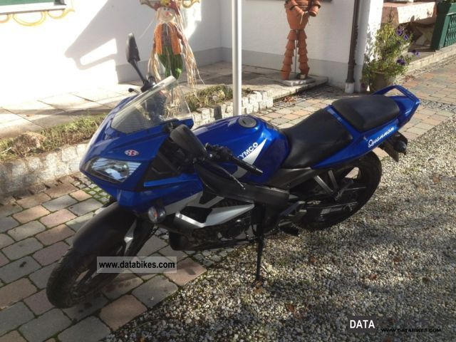 2008 Kymco  125 (reduced 80km / h, tire chain set as + new) Motorcycle Lightweight Motorcycle/Motorbike photo