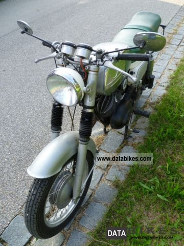 Zundapp  Zündapp KS175 S Trophy 1960 Vintage, Classic and Old Bikes photo