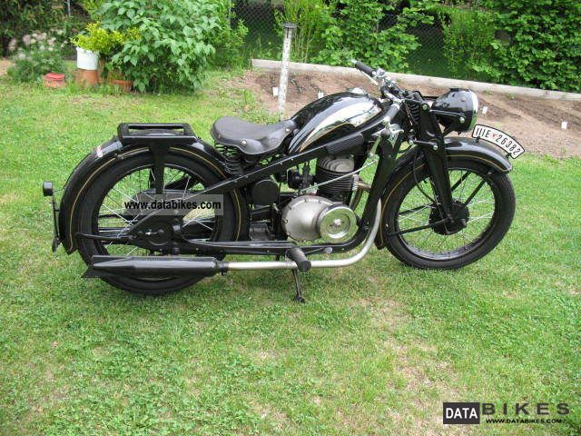 Zundapp  Zündapp DK 200 1934 Vintage, Classic and Old Bikes photo