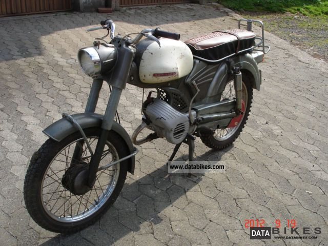 Zundapp  Zündapp Sports Combinette 1962 Vintage, Classic and Old Bikes photo