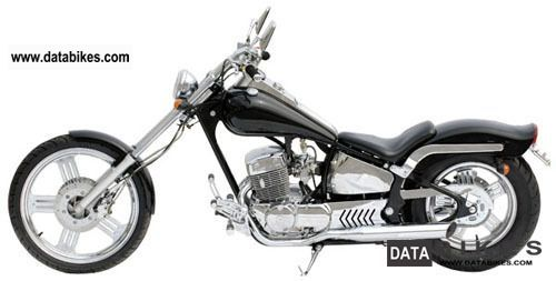 2010 WMI  Spyder 125 Motorcycle Chopper/Cruiser photo