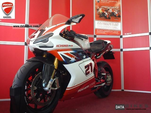 2012 Ducati  1098 R TROY BAYLISS Ltd. No. 268/500 Motorcycle Sports/Super Sports Bike photo