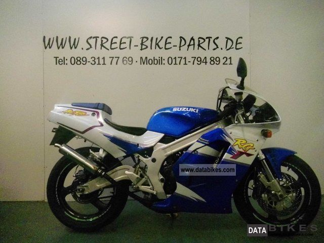 1995 Suzuki  RG 125, rare 2-stroke sports bike! Motorcycle Sports/Super Sports Bike photo