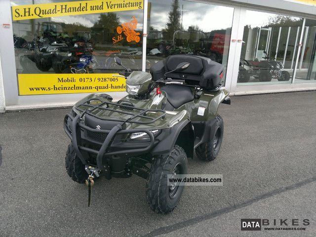 Suzuki  LTA 750AXI Model 2012 Special LOF including K 2012 Quad photo