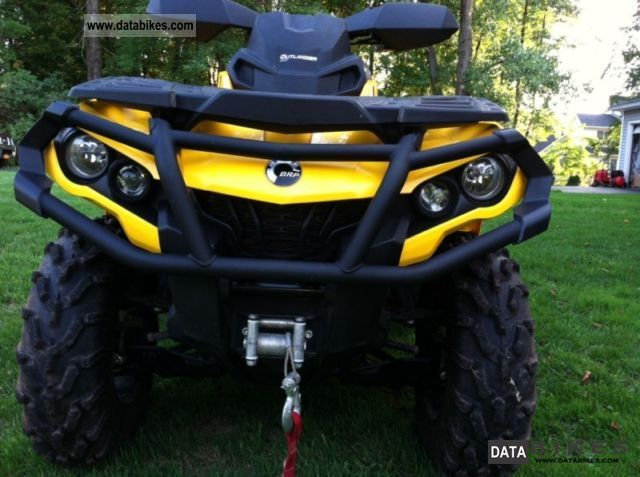 2012 Bombardier  1000 Outlander XT Motorcycle Quad photo