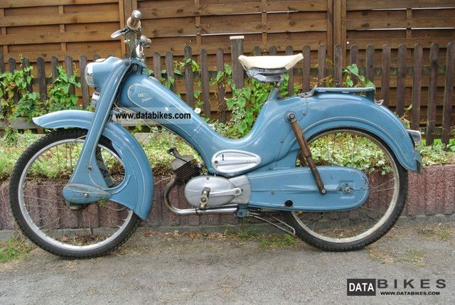 DKW  Hummel 1957 3 gear scooter in original paint 1957 Vintage, Classic and Old Bikes photo