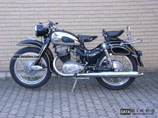 NSU  Supermax 1957 Vintage, Classic and Old Bikes photo