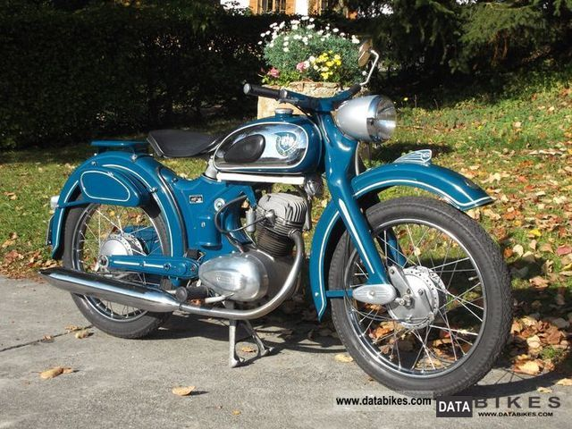 NSU  OSB 125 SUPER FOX 1957 Vintage, Classic and Old Bikes photo