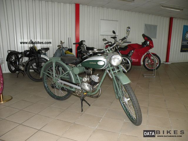 Sachs  Express 98ccm of 1952 1952 Vintage, Classic and Old Bikes photo