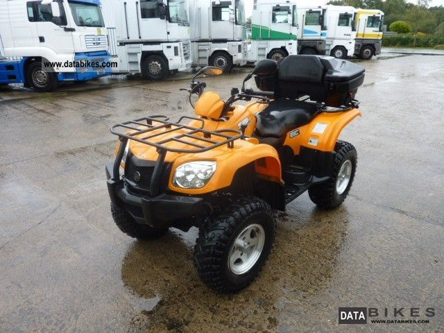 2007 GOES  520 MAX 4x4 CF500A Motorcycle Quad photo
