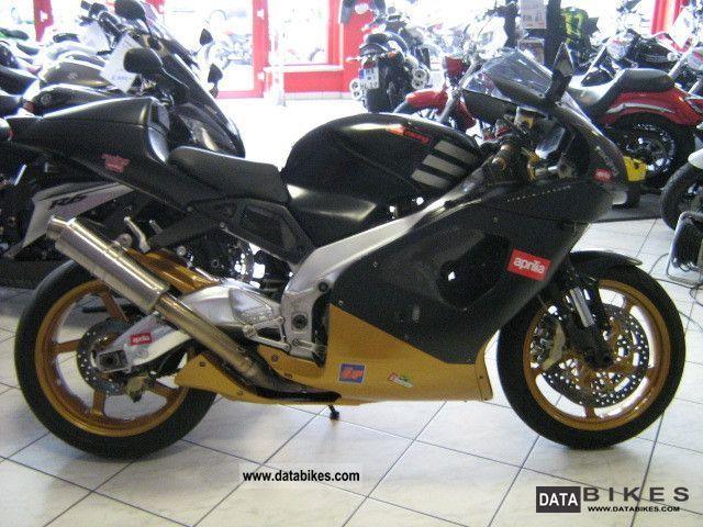 2002 Aprilia  RSV 1000 Motorcycle Sports/Super Sports Bike photo
