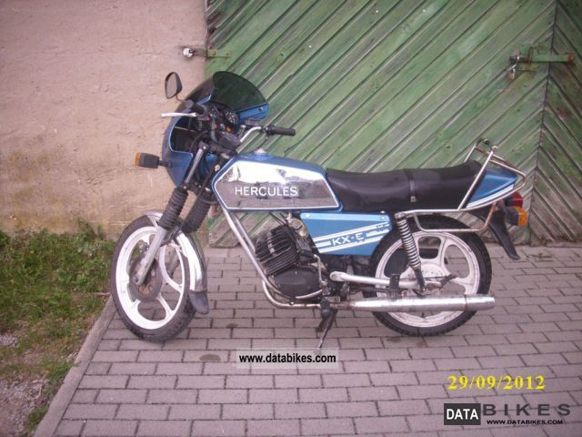1986 Herkules  KX-5 Motorcycle Motor-assisted Bicycle/Small Moped photo
