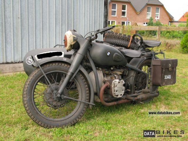 BMW  M 72 1938 Vintage, Classic and Old Bikes photo