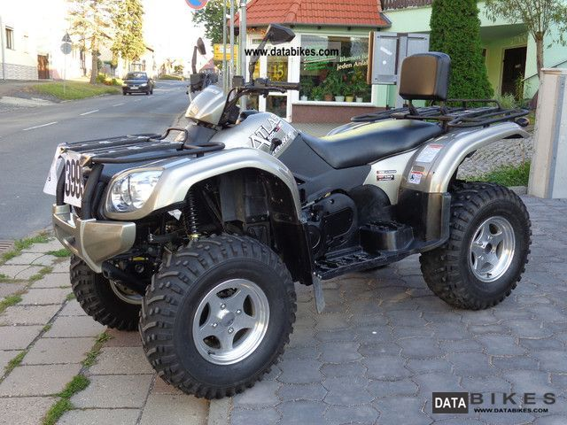 2010 CFMOTO  Atlas 500 with LOF Motorcycle Quad photo