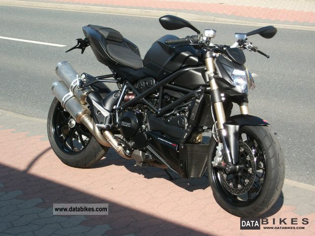 2012 Ducati  Streetfigter 848-Dark Stealth-1600 Km! Motorcycle Streetfighter photo