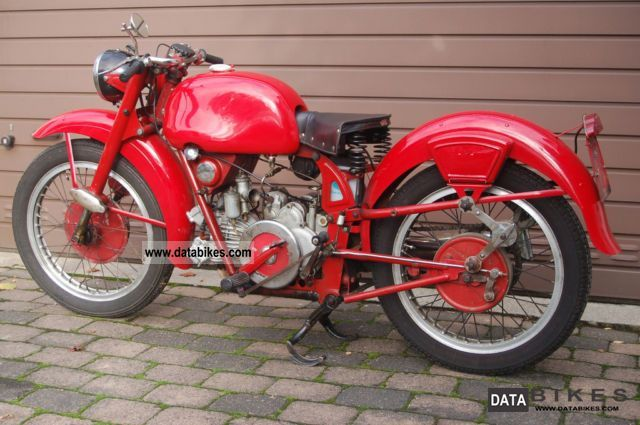 Moto Guzzi  Airone Sport 250 1952 Vintage, Classic and Old Bikes photo