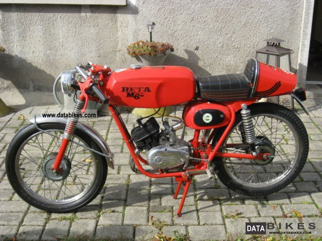 Beta  M6 Special \ 1972 Vintage, Classic and Old Bikes photo