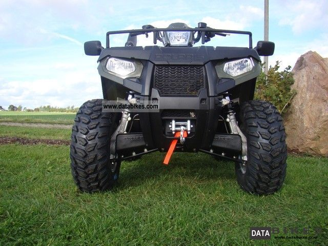 Polaris  Sportsman 800 EFI 4x4 with lots of accessories 2012 Quad photo