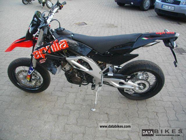 2011 Aprilia  SXV 550 37kw entry as new Motorcycle Super Moto photo