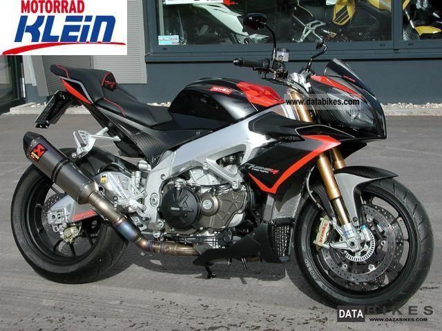 2012 Aprilia  RSV4 Factory APRC Tuono V4 Motorcycle Sports/Super Sports Bike photo