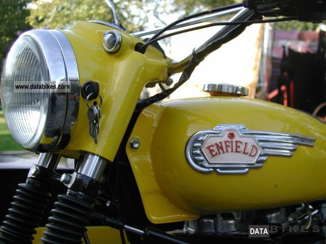 1986 Royal Enfield  Bullet 350 team Motorcycle Combination/Sidecar photo