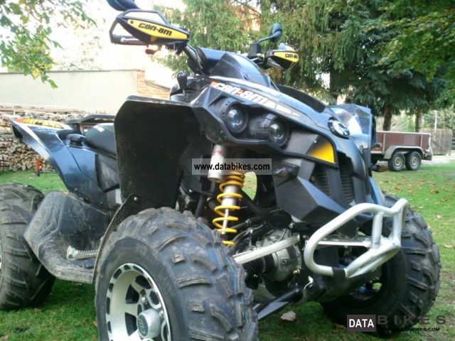 2009 BRP  Can am Renegade 800R X Motorcycle Quad photo