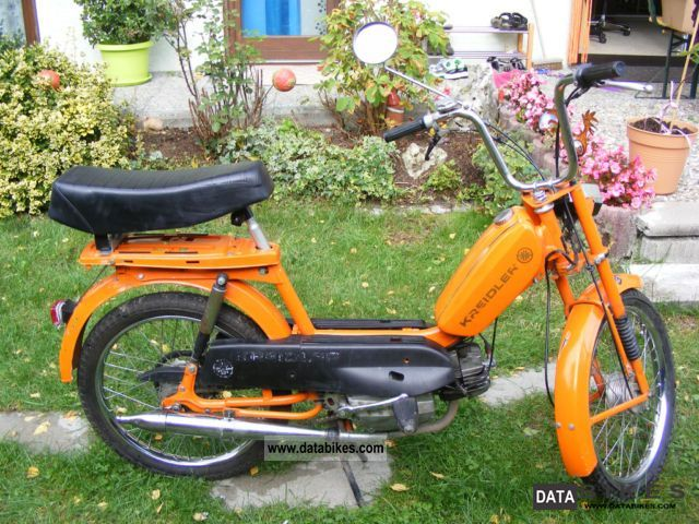 1981 Kreidler  MF 2 Motorcycle Motor-assisted Bicycle/Small Moped photo