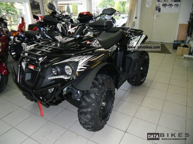 2012 Adly  Online X 6.5 Motorcycle Quad photo