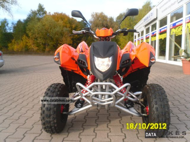 2010 Adly  300 XS Motorcycle Quad photo