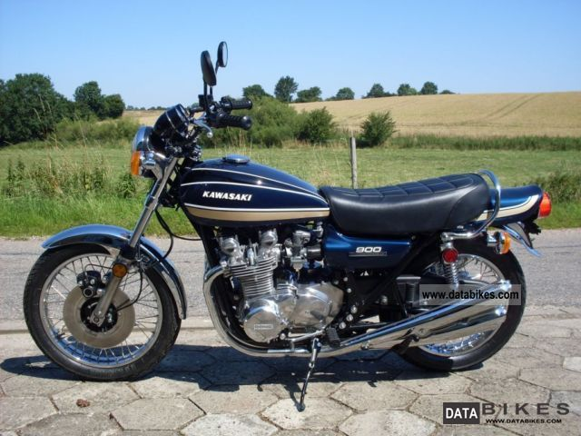 Kawasaki  Z1B 1975 Vintage, Classic and Old Bikes photo