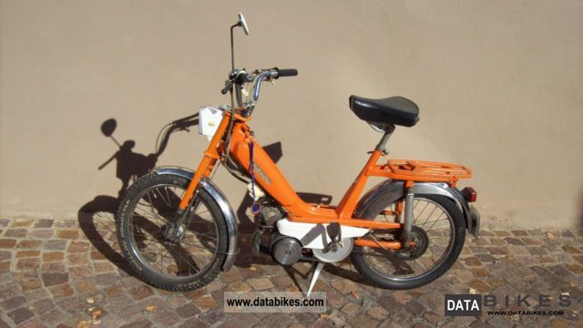 1974 MBK  Mobylette Motorcycle Motor-assisted Bicycle/Small Moped photo