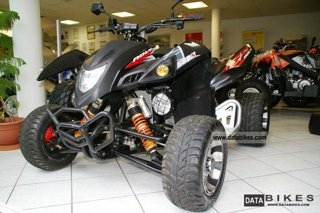 2012 Adly  500 Hurricane / Supermoto - unique in DE Motorcycle Quad photo