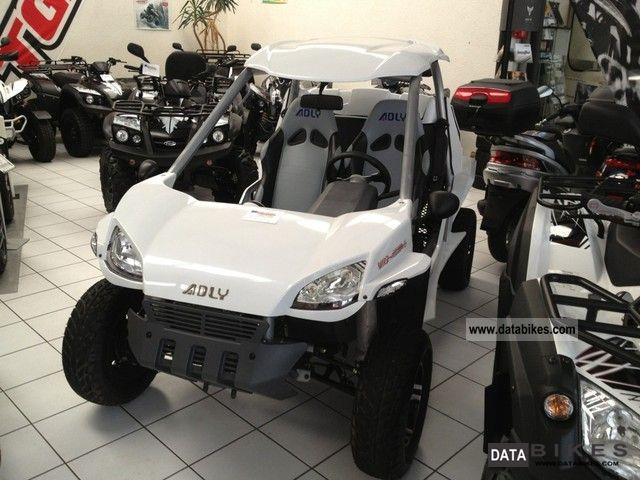 2012 Adly  Hercules Minicar 320 demonstrators Motorcycle Quad photo