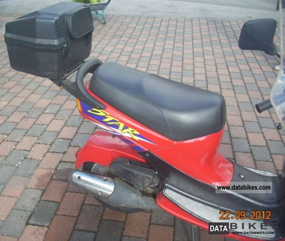1997 Simson  SRA 50 Motorcycle Scooter photo