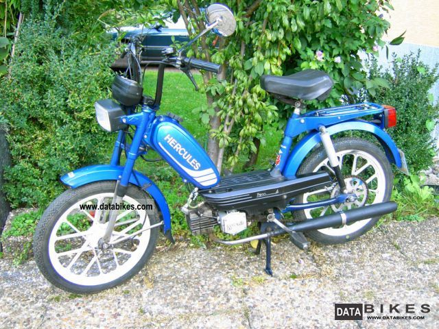 1986 Hercules  Prima 4 Motorcycle Motor-assisted Bicycle/Small Moped photo