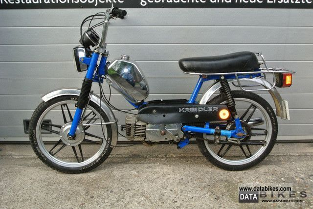1980 kreidler flory mf23 3 speed tuning scooter 90km h