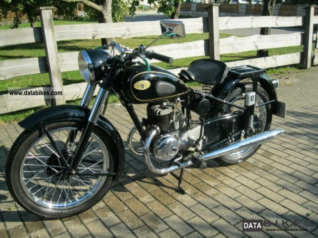 Zundapp  Zündapp DB 203 \ 1953 Vintage, Classic and Old Bikes photo