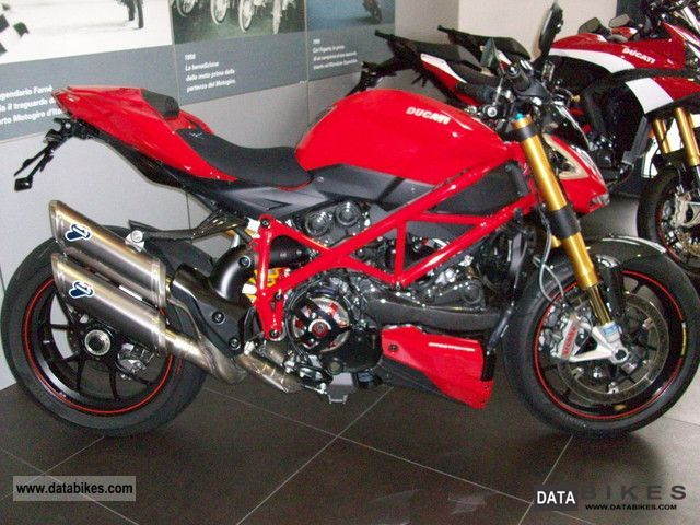 2012 Ducati  Streetfighter S 1098 with accessories Motorcycle Naked Bike photo