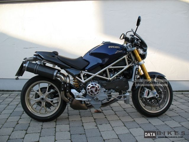 2009 Ducati  Monster S4RS Tricolore Motorcycle Naked Bike photo