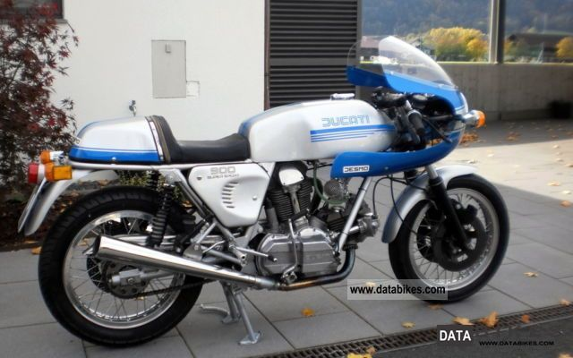 Ducati  900 Supersport Bevel 1978 Vintage, Classic and Old Bikes photo