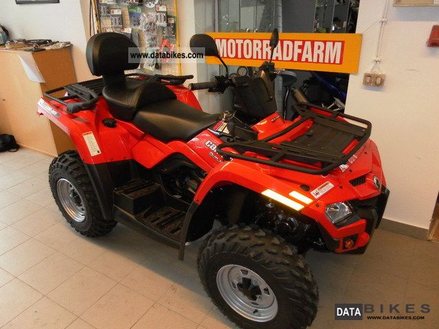 Can Am  Outlander 400 Max Lof / Zugmaschiene NEW! 2012 Quad photo