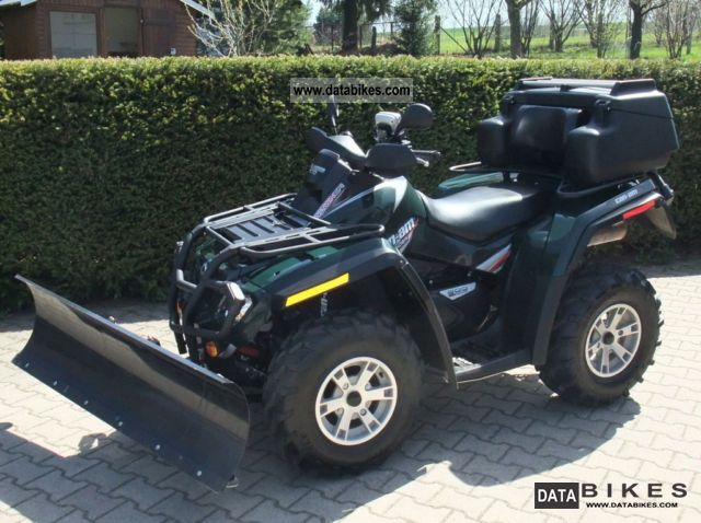 2009 Can Am  800 xt Motorcycle Quad photo