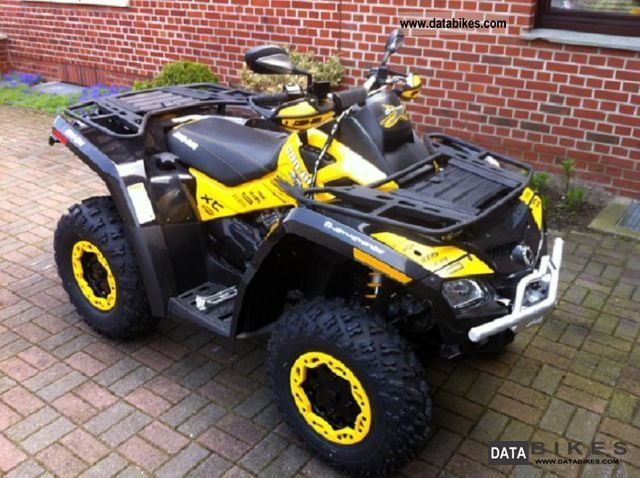 2012 Can Am  Outlander 800 XXC Motorcycle Quad photo