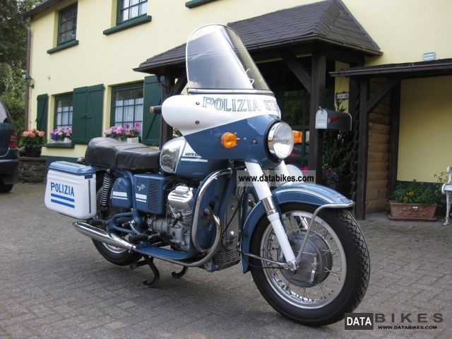 1975 Moto Guzzi  V 7 Police Motorcycle Tourer photo