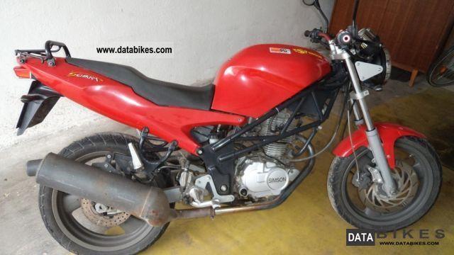 2001 Simson  Schikra 125 Motorcycle Lightweight Motorcycle/Motorbike photo