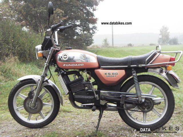 1982 Zundapp  Zündapp KS 80 Motorcycle Lightweight Motorcycle/Motorbike photo
